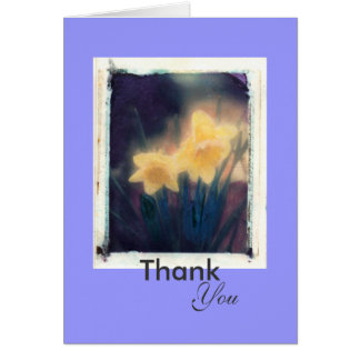 Thank, You Greeting Card