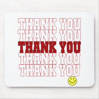 Thank You Grocery Bag Mousepad