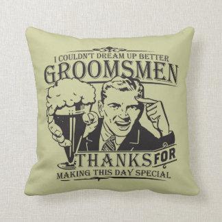Thank You Groomsmen Cushion