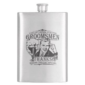 Thank You Groomsmen Flasks