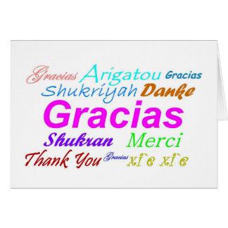 Spanish Thank You Note Cards | Zazzle.co.uk
