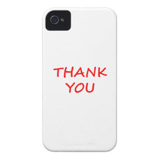 Thank You iPhone 4 Cover