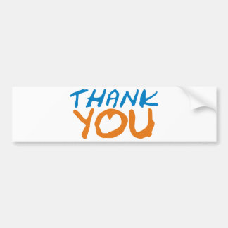 Thank You - Ipoo Products & Designs! Bumper Sticker