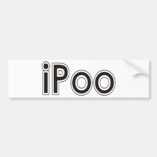 Thank You - Ipoo Products Designs Bumper Stickers