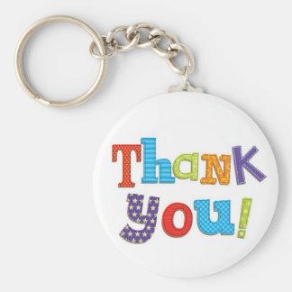 Thank You Key Chains