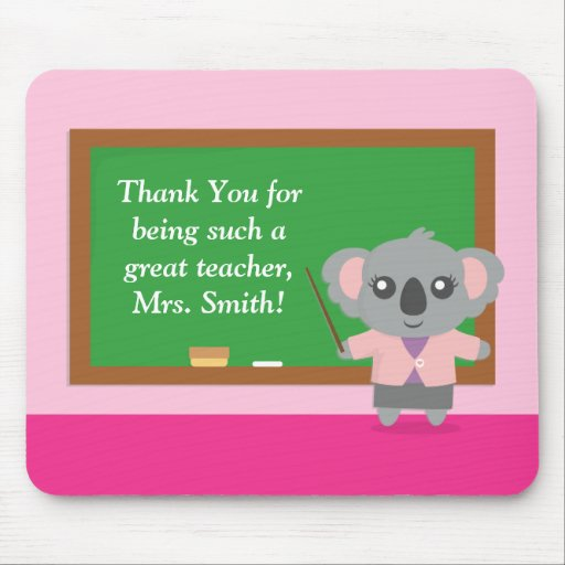 Thank You, Koala Bear, Teacher Appreciation Mousepads