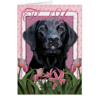 Thank You - Labrador - Black - Gage Greeting Card