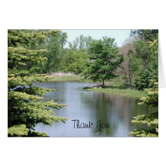 Thank You Landscape Card by Janz