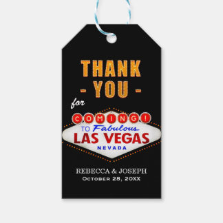 Thank You - Las Vegas Sign Fabulous Casino Night