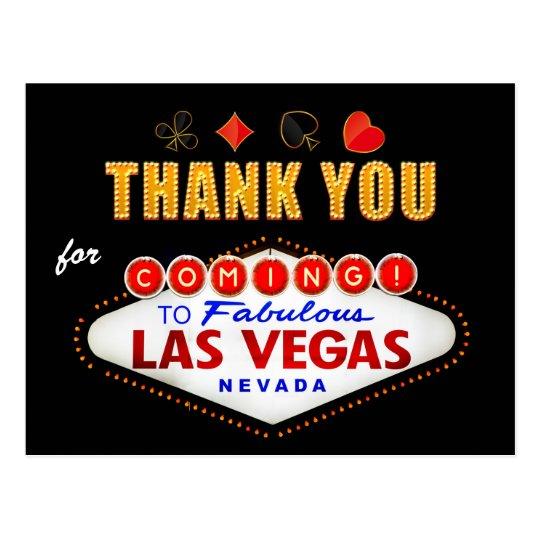 Thank You - Las Vegas Sign Fabulous Casino