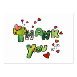 Thank You Mini Cards Business Cards