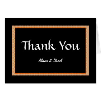 Thank You, Mom & Dad Cards