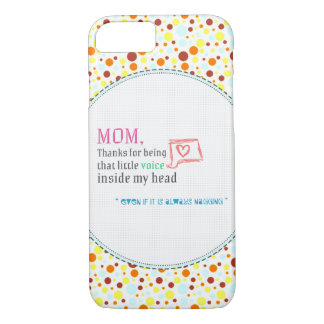 Thank You Mom iPhone 7 Case