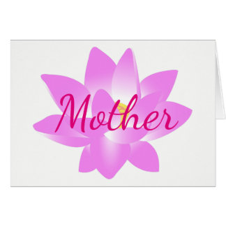 Thank You Mother Card