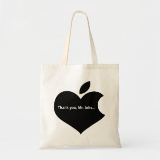 THANK YOU MR JOBS TOTE BAG