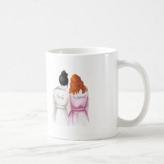 THANK YOU Mug Black Bun Bride Red Curls Bm