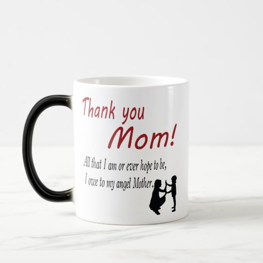 thank you mum magic mug