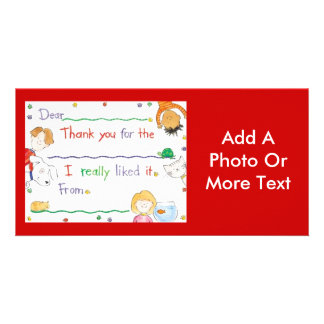 Thank You Note Card