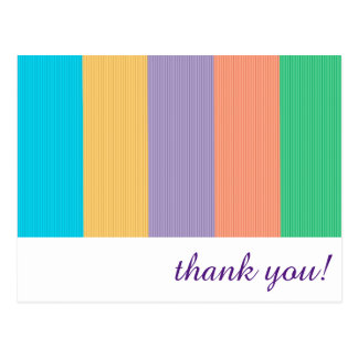 Thank You Note - Double-sided Postcard