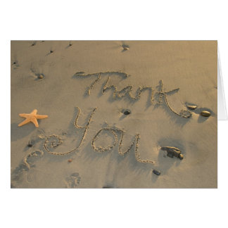 Thank You Note - Starfish Card