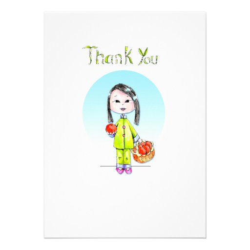 Thank You Notes - 10 per package Custom Invites