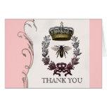 Thank You Notes - Queen Bee Royal Wedding Cards