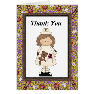 Thank You Nurse Card