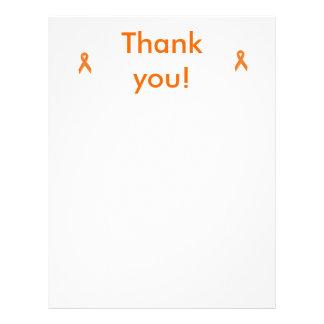 thank you paper 21.5 cm x 28 cm flyer