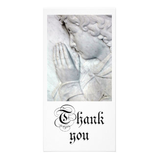 Thank you photo greeting card