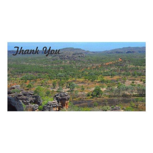 Thank You photo card - Arnhemland