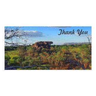 Thank You photo card - Ubirr Rock, Kakadu