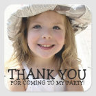 Thank You Photo Sticker for Kids Party