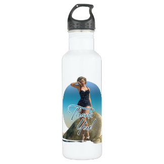 Thank You Pin Up Norma 710 Ml Water Bottle