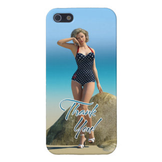 Thank You Pin Up Norma iPhone 5/5S Covers