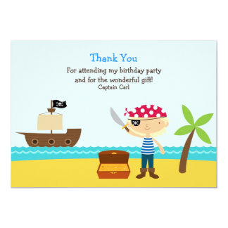 Thank You Pirate Card