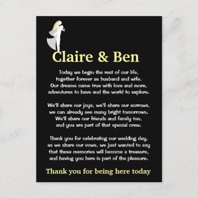 Seuss Wedding Readinghumorous Wedding Readings