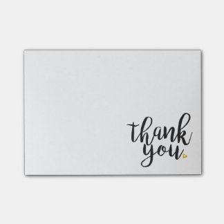 Thank You Post-it Notes