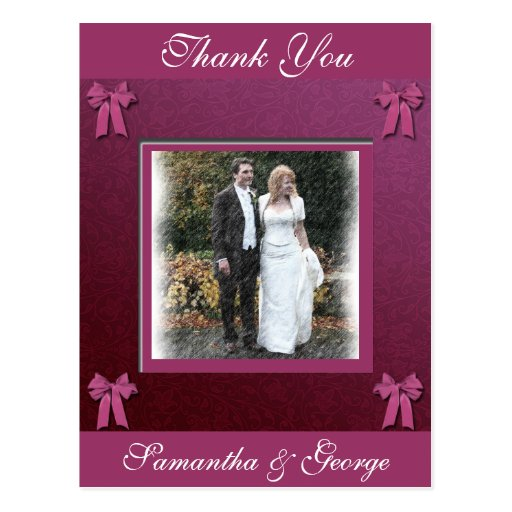 Thank you post cards