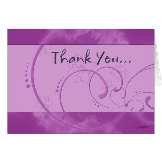 Thank You (Purple) Card