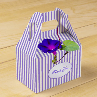 """""""Thank You"""" - Purple Morning Glory Photography Favour Box"""