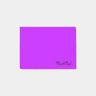 Thank You | Purple Post-it Notes