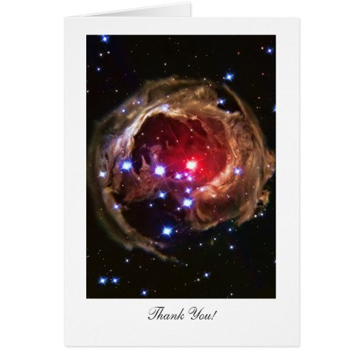 Thank You - Red Supergiant Star Monocerotis Greeting Cards