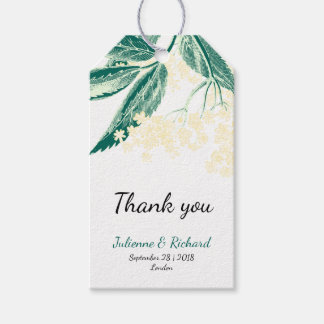 Thank you Rustic Woodland Wedding Gift Tags