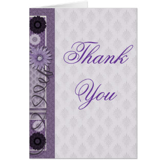 Thank You Sewing Addict Greeting Card