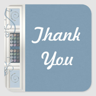 Thank You Sewing Addict Sticker