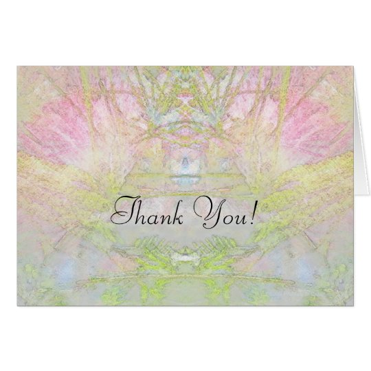 Thank You Silk Tree Meditations Card