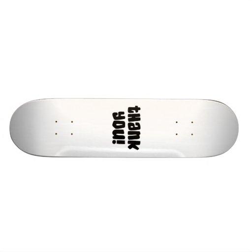 Thank You Skateboards