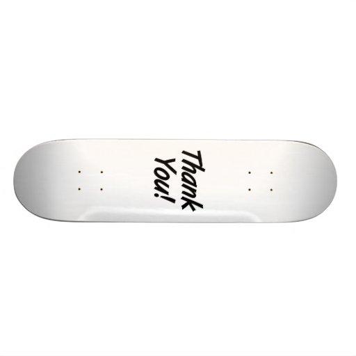 Thank You Skate Decks