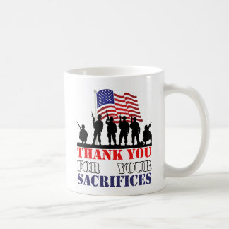 Thank You Soldiers Veterans Day Mug