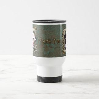 Thank You - Stone Paws - Dalmatian Travel Mug